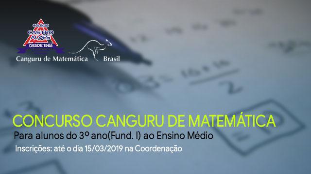 Concurso Canguru de Matemática