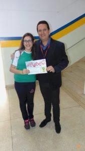 Reconhecimento dos alunos destaques de 2º bimestre 2019 no Colégio Castro Alves
